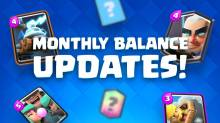 Clash Royale Monthly Balance Changes Updates