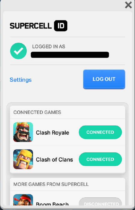 Supercell ID Switching Accounts Clash Royale