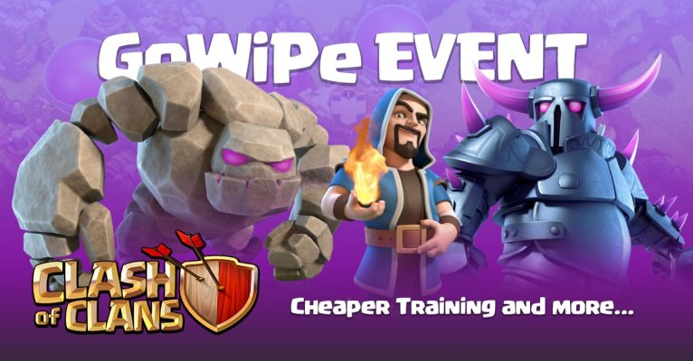 Triple Threat Event GoWiPe Clash of Clans