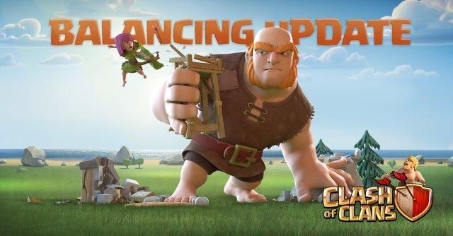 Clash of Clans June Balancing Update