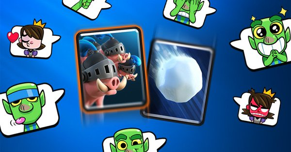 Giant Snowball Decks Clash Royale