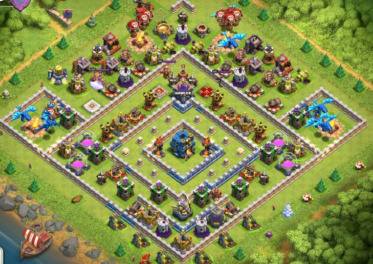 Town Hall 12 Base Design Clash of Clans