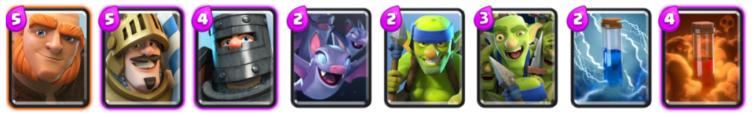 Giant Double Prince Deck Archetype Challenge Clash Royale