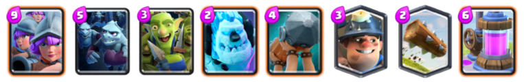 Three Musketeers Deck Archetype Challenge Clash Royale
