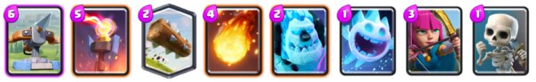 Inferno X Bow Deck Archetype Challenge Clash Royale