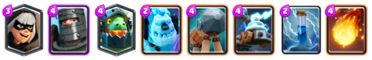 Bridge Spam Deck Archetype Challenge Clash Royale