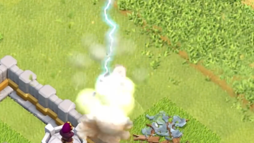 Electro Dragon Attack Clash of Clans