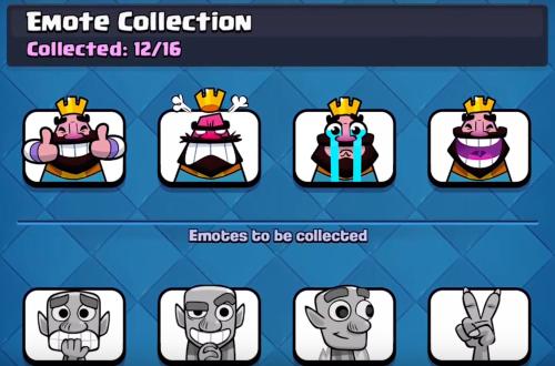 Emote Collection Clash Royale