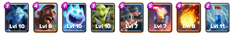 Royal Hogs Hog Deck Clash Royale