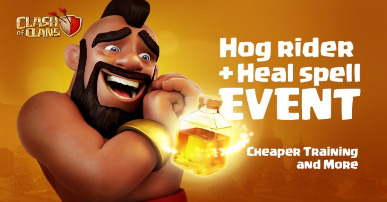 Happy Hogs Event Clash of Clans