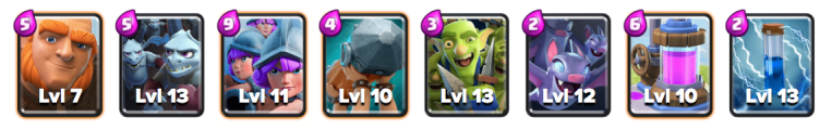 Rage Challenge Deck Giant Three Musketeers Deck