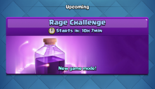 Rage Challenge Best Decks Clash Royale
