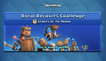 Royal Recruits Draft Challenge Clash Royale