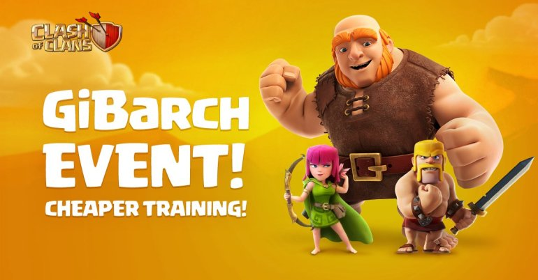 GiBarch Event Clash of Clans