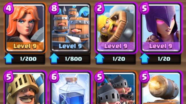 Level 9 Epics New Levels Clash Royale September Update