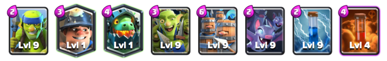 Miner Royal Recruits Deck Clash Royale