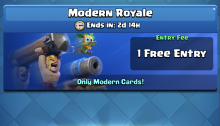 Best Decks Modern Royale Challenge Clash Royale