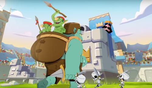 Goblin Giant Gameplay Clash Royale