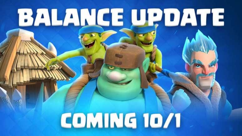 Clash Royale Best Decks October Balance Changes