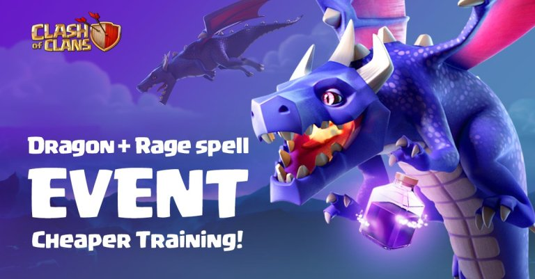 Angry Wyrms How We Roll Event Clash of Clans