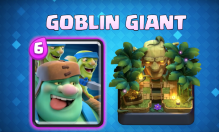 Goblin Giant Gameplay Clash Royale September Update