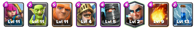 Giant Double Prince Deck Clash Royale September 2018