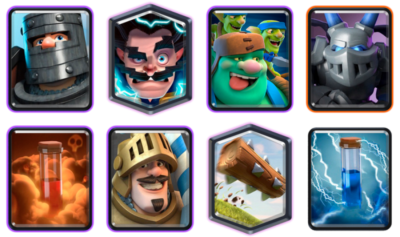 Goblin Giant Double Prince Deck Clash Royale