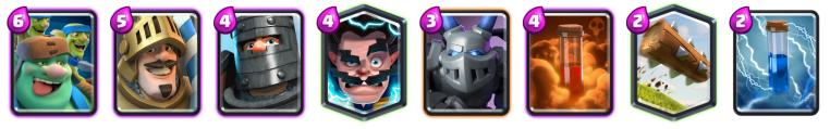 Goblin Giant Deck October Balance Changes Clash Royale