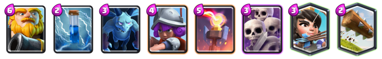Royal Giant Deck October Balance Changes Clash Royale