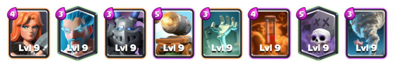 Ice Wizard Deck October Balance Changes Clash Royale