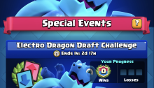 Electro Dragon Draft Challenge Clash Royale