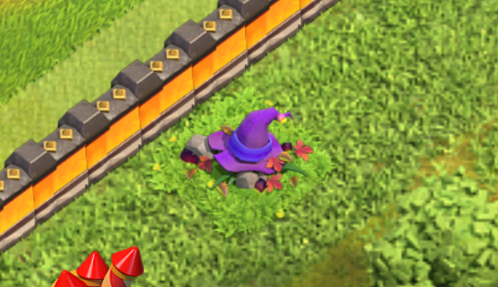 Witch's Hat Halloween Obstacle Clash of Clans