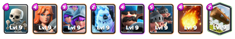 Royal Hogs Three Musketeers Deck October 2018 Clash Royale