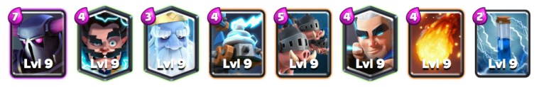 PEKKA Royal Hogs Deck October 2018 Clash Royale