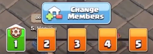 Change Clan War League Roster Clash of Clans
