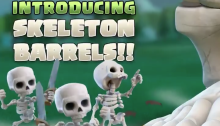 Skeleton Barrel Giant Skeleton Halloween Troops Clash of Clans
