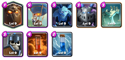 LavaLoonion Deck Shocktober Challenge Clash Royale
