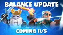 Clash Royale November 2018 Balance Changes Update