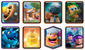 Three Musketeers Heal Deck CRL Blind Deck Challenge Clash Royale