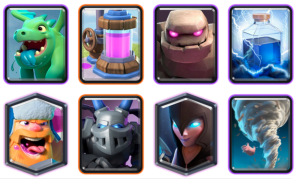 Golem Beatdown Deck CRL Blind Deck Challenge Clash Royale