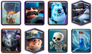 Mega Knight Balloon Deck CRL Blind Deck Challenge Clash Royale