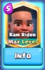 Ram Rider Gameplay Clash Royale
