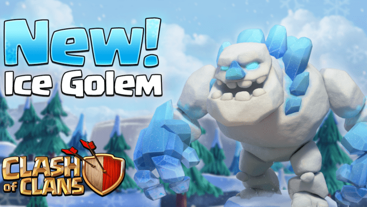 New Ice Golem Troop in Clash of Clans December Update
