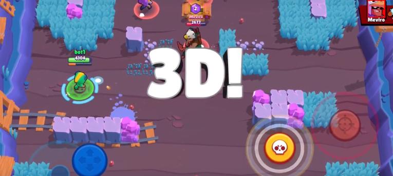 3D Maps Brawl Stars December 2018 Update