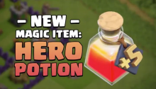 Hero Potion Clash of Clans December 2018 Update