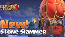 Stone Slammer Clash of Clans New Siege Machine December 2018 Update