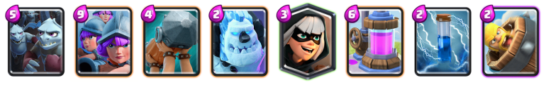 Three Musketeers Deck 2019 Clash Royale