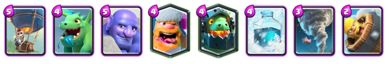 Balloon Freeze Deck 2019 Clash Royale