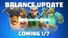 Clash Royale Balance Changes Update January 2019