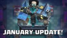 Clash Royale January 2019 Update